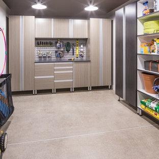 Trendy garage photo in Nashville