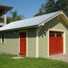 Traditional Garage And Shed by Historic Shed