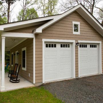 Detached Garage in Centreville, VA