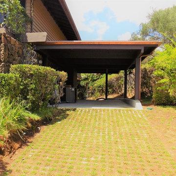 Diamond Head Residence - Family Room Extension, New Open Deck & New Carport