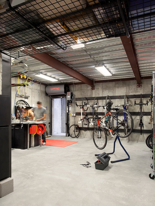 Garage Bike Rack Ideas Pictures Remodel And Decor