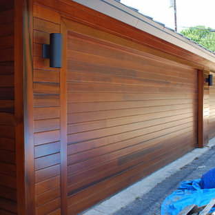 Doors to match Rain Screen Siding