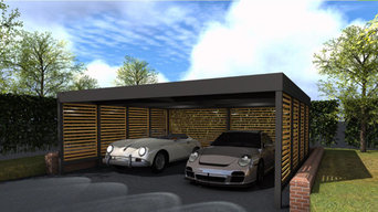 Double carport for Classic Cars