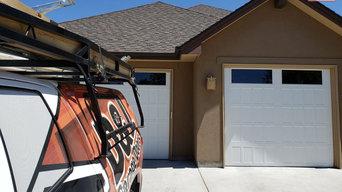 Double garage door replacement