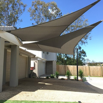 Driveway Shade Sail - Private Residence