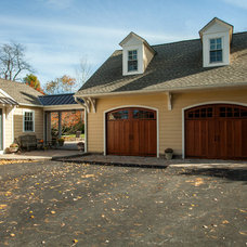 Traditional Garage And Shed by Rudloff Custom Builders
