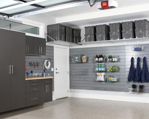 Foto e idee per garage e rimesse garage e rimesse moderni for Due idee di garage per auto