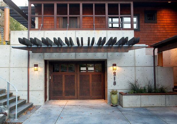 Contemporain Garage by Dan Nelson, Designs Northwest Architects