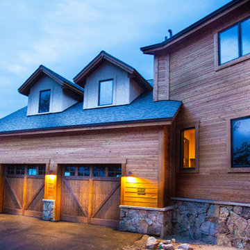 Estes Park, Pole Hill Luxury Steep Slope Custom Home