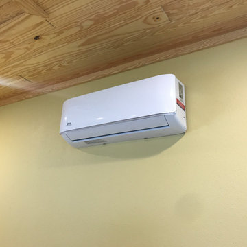 Even air conditioning!! For wood working projects