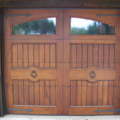 traditional garage doors by Appalachian Woodwrights