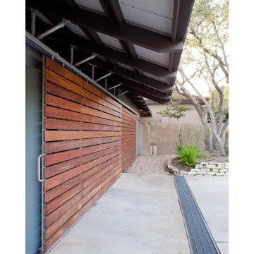 Exterior Garage - After