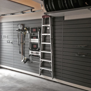 Design ideas for a small industrial carport in Vancouver.