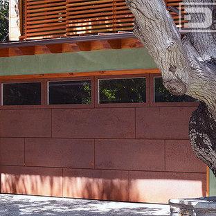 Find Cor-Ten Steel Designer Garage Doors in a Contemporary Architectural Design!