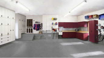 Finished Garage Spaces