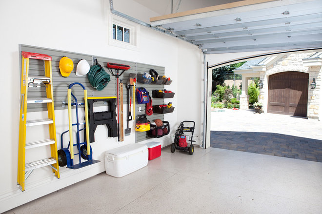 Contemporary Garage And Shed by Flow Wall System