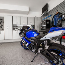 Modern Garage And Shed by Flow Wall System
