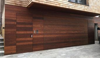 Flushmount garage door