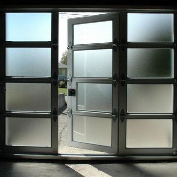 Fullview WalkThru Garage Doors