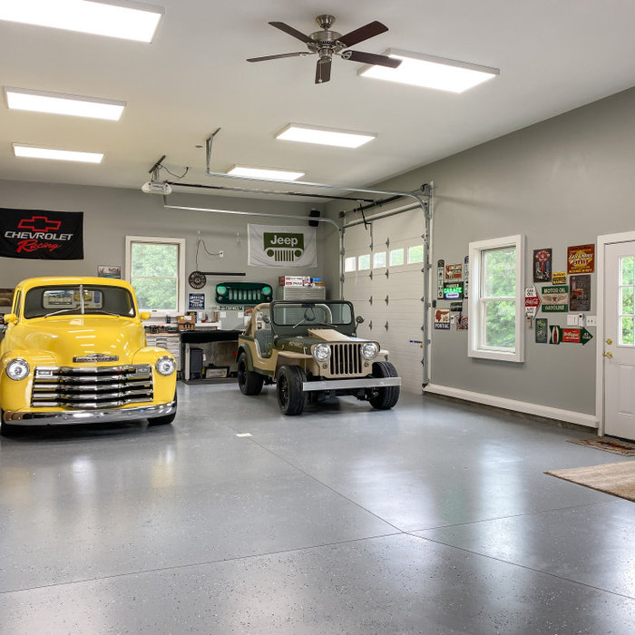 Addition: Antique Car Garage Remodel