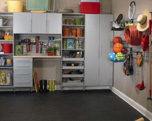 Garage Shop Organization | Houzz