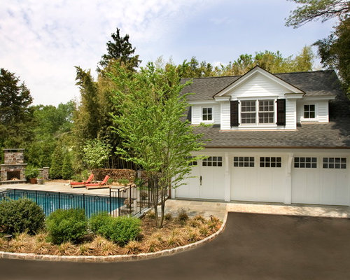 Garage addition design ideas remodel pictures houzz for Garage pool house combos