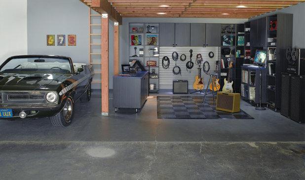Contemporary Garage by California Closets