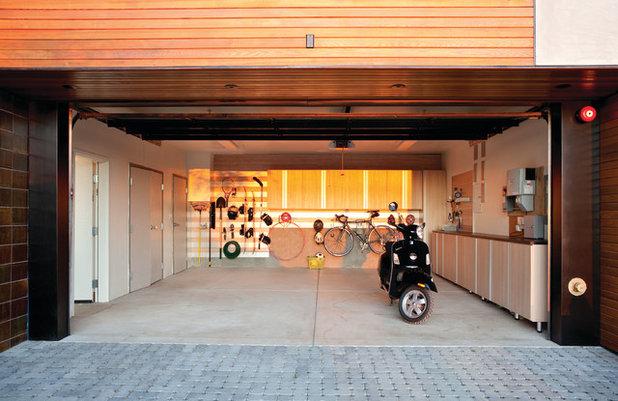 Attractive Contemporary Garage By California Closets