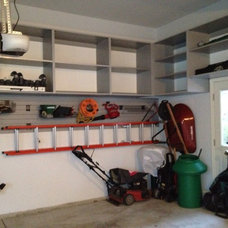 Industrial Garage And Shed by Closet Organizing Systems
