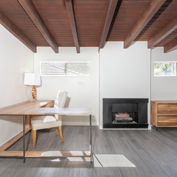 Garage Conversion Into Family Room