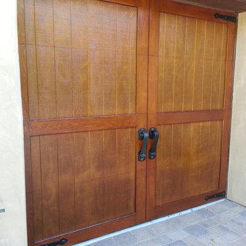 Garage Door Before + After