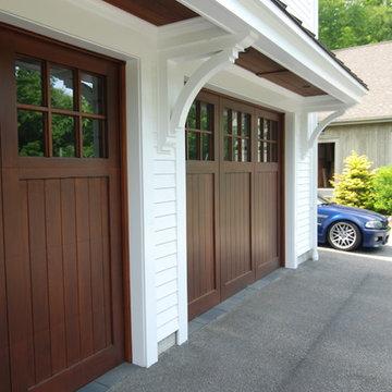 Garage door/canopy detail