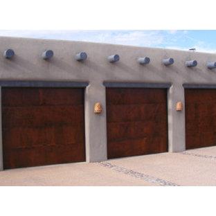 Garage - huge southwestern attached garage idea in Phoenix