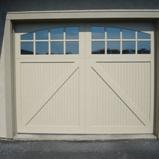 Traditional Garage Doors And Openers by Clingerman Doors - Custom Wood Garage Doors
