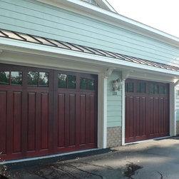 Garage Doors - wood garage doors by Clingerman Doors