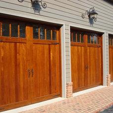 Traditional Garage Doors And Openers by Clingerman Doors - Custom Wood Garage Doors
