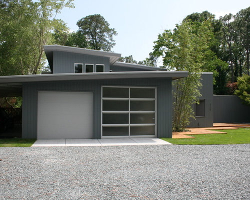 Doppelgarage modern  Best 25 Modern Garage and Shed Ideas & Remodeling Pictures | Houzz