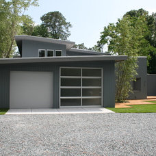 Modern Garage And Shed by Tongue & Groove