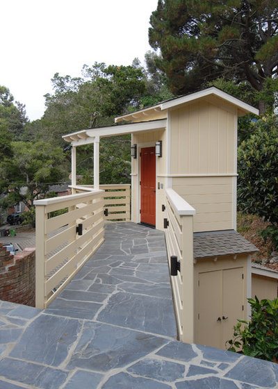 Traditional Garage by Canyon Design Build
