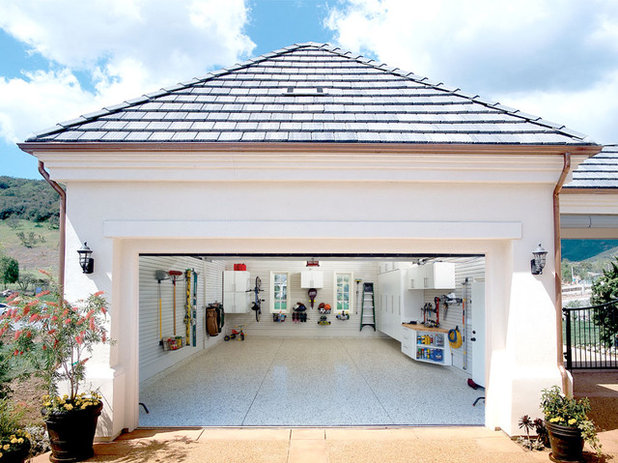 Traditional Garage by Garage Envy