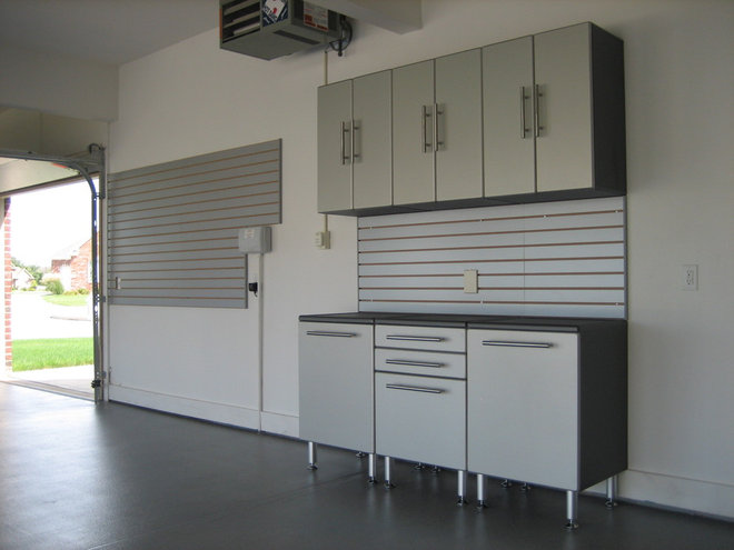 Contemporary Garage And Shed by Custom Storage Solutions