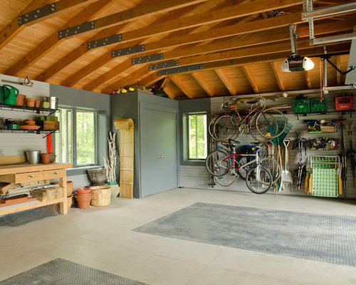 garage interior home design ideas pictures remodel and decor modern garage storage cabinet design ideas and