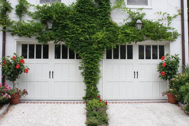 Traditional Garage by Lantern & Scroll