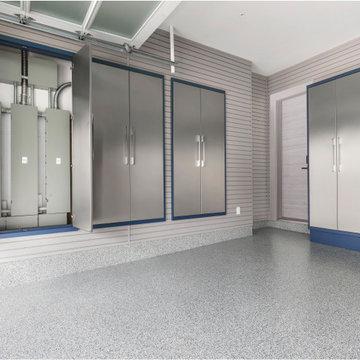 Garage Living-Garage Cabinets, Garage Floor, Garage Storage, Garage Organization
