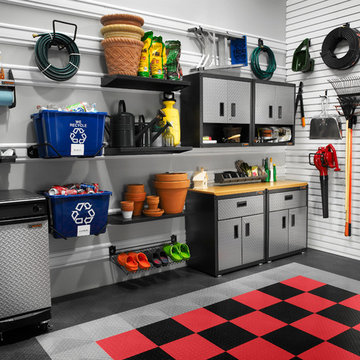 Garage Makeover with Wall Storage Accessories