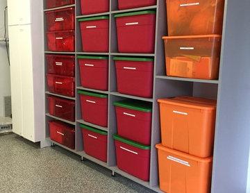 Garage Organization and Shelving