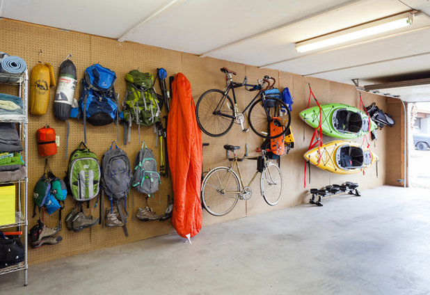 Eclectic Garage by Mackenzie Collier Interiors
