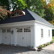 Traditional Garage And Shed by Cabot Building & Design, Inc.
