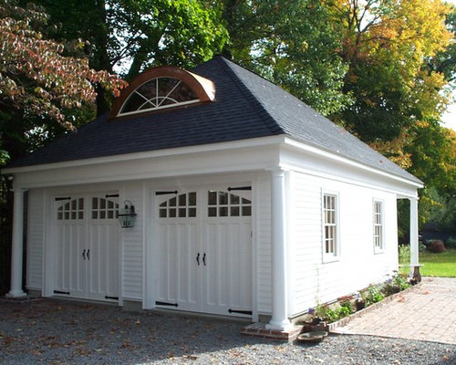 Hip roof garage ideas pictures remodel and decor for Hip roof garages