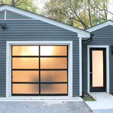 Modern Garage And Shed by place architecture:design